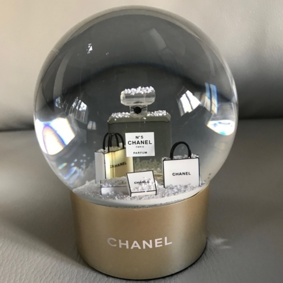 CHANEL Other - NEW: Chanel Ultra Rare Snow Globe